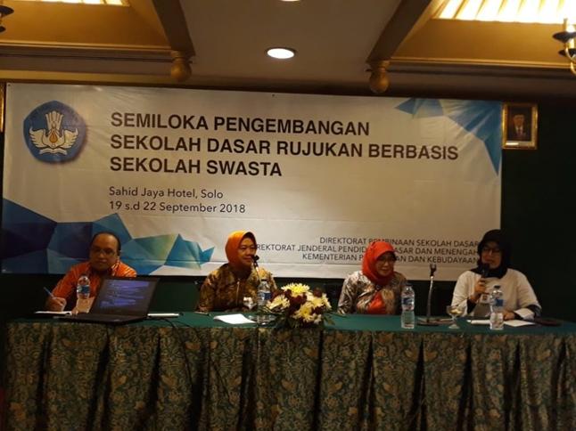 Kemendikbud Tetapkan SD FASTKHAIR menjadi SD Swasta Rujukan